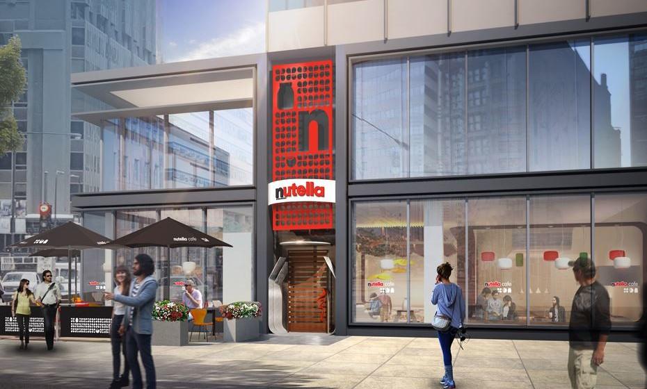 Nutella Café.  (Imagens: reprodução Chicago Tribune)