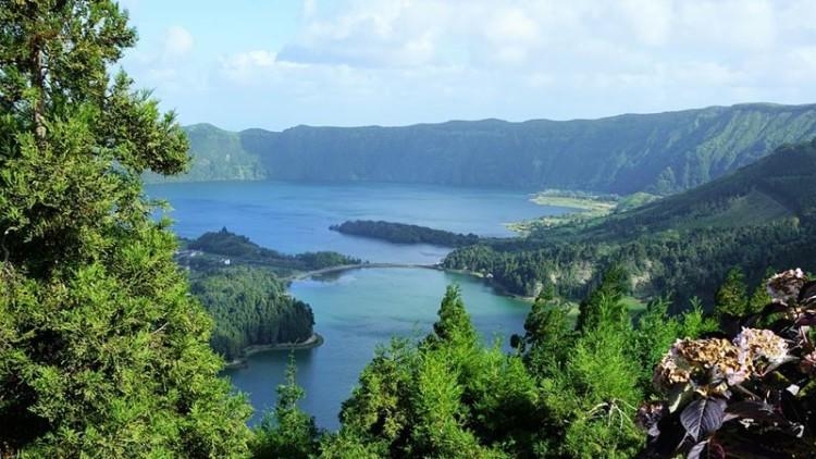 Foto: Lagoa das Sete Cidades, Açores
