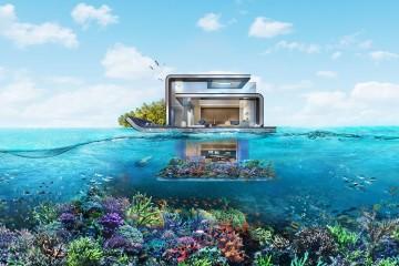 Há um certo fascínio por residências à beira-mar. Mas há algo que oferece muito mais do que uma vista panorâmica do oceano ao longe: é viver dentro de água. Com o avanço tecnológico, as empresas de arquitetura estão a tentar o mercado com projetos de casas flutuantes. Conheça alguns dos empreendimentos mais promissores.