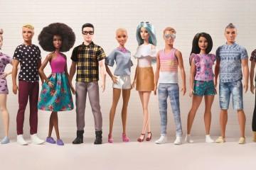 Depois da Barbie, agora é a vez do Ken ter vários tipos de corpos