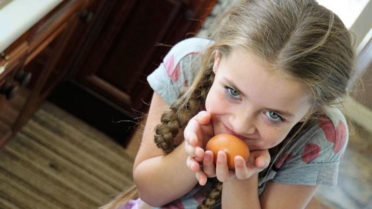 Ovos fazem as crianças crescer mais