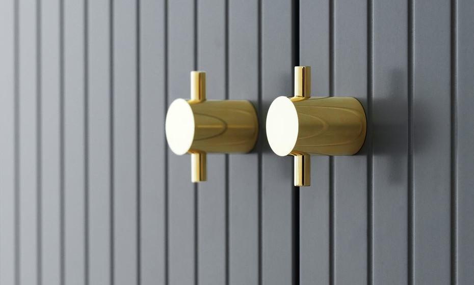 Dourados e minimalistas indicados para habitações modernas e de design sofisticado.