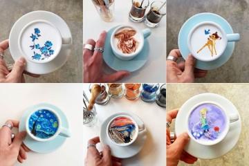 Barista sul coreano está a levar a arte no café a um outro nível