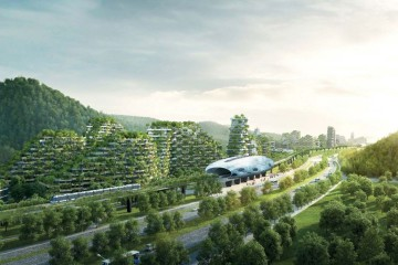 Liuzhou Forest City, por Stefano Boeri Architett