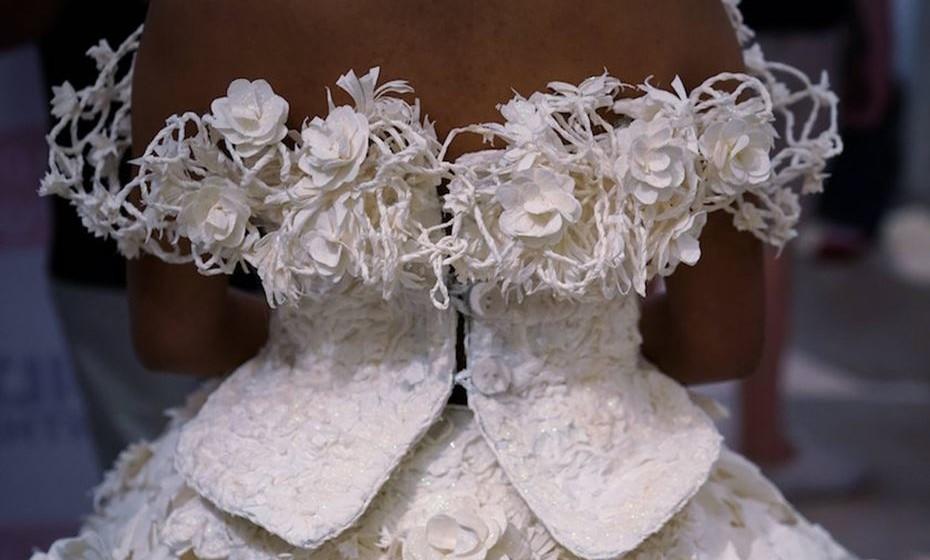 Concurso de Vestidos de Noiva em Papel Higiénico