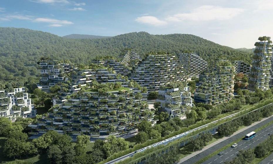 Liuzhou Forest City, por Stefano Boeri Architett