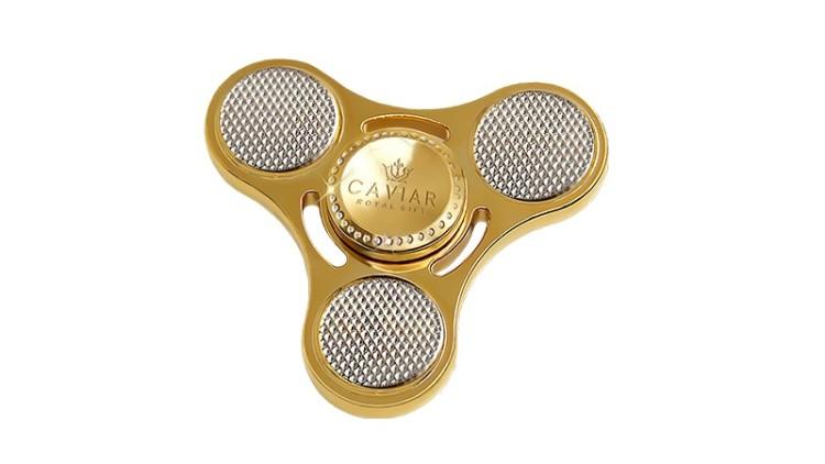 Feito em ouro e diamantes, este é o spinner mais caro do mundo