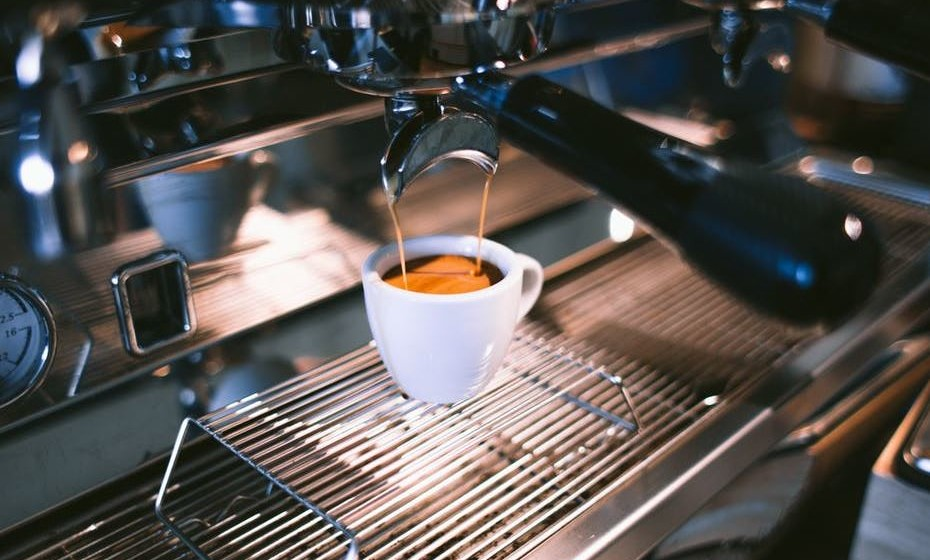 café na máquina