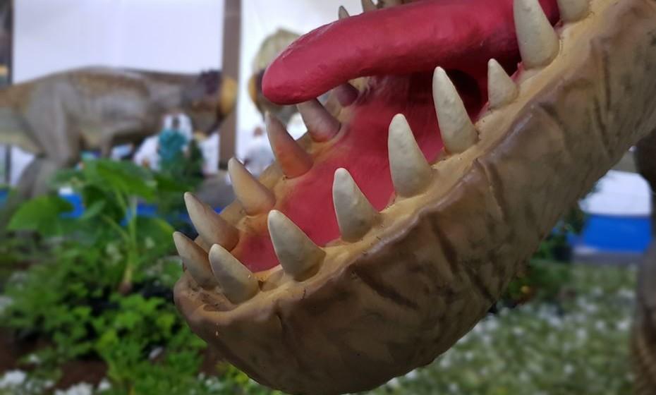 Dinossauros Saem à Rua