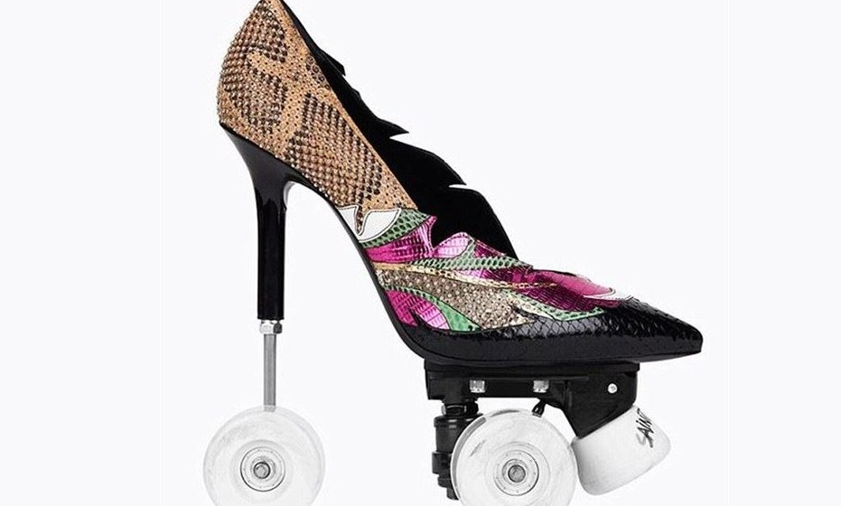 'Anja 100 Patch Pop Pump Roller'