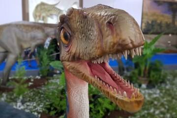 Mais de 100 dinossauros a caminho do Dino Parque na Lourinhã