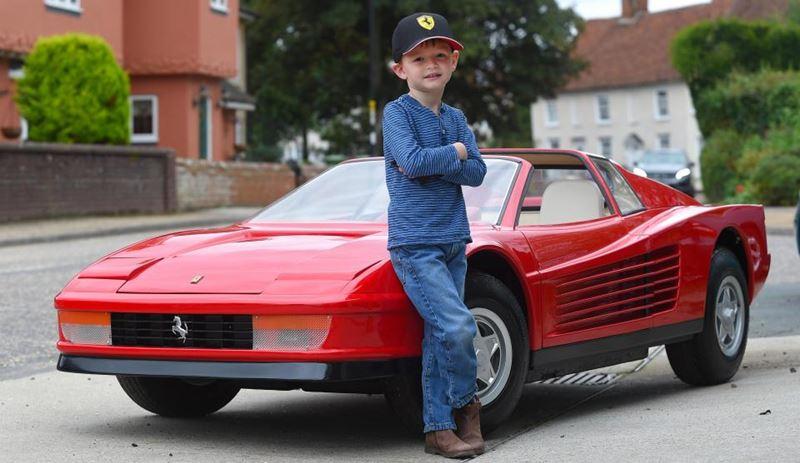 Um Ferrari de brincar que custa… 80 mil euros