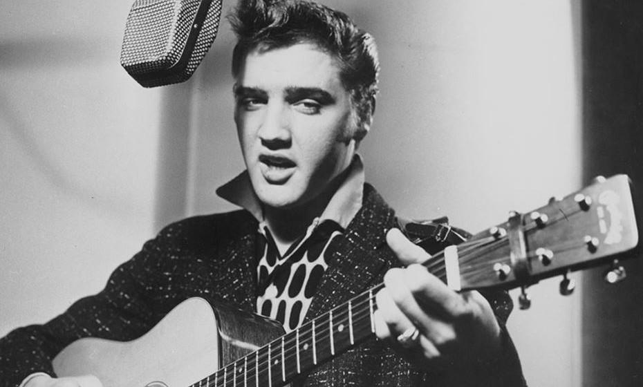 A Escola do Hard Rock conta a história do rock. Imagem: Elvis Presley, D.R. www.elvis.com