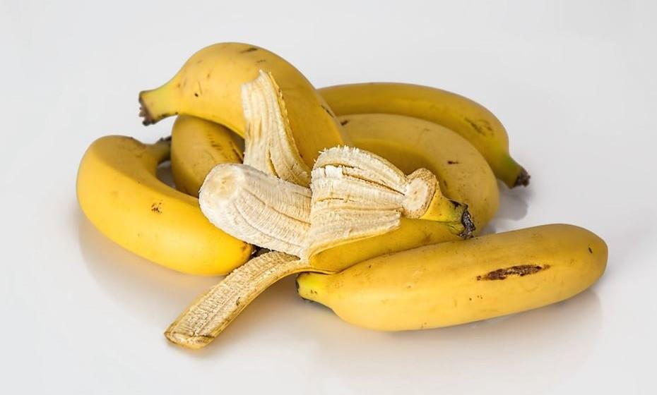 Bananas – uma banana contém 425mg de potássio.