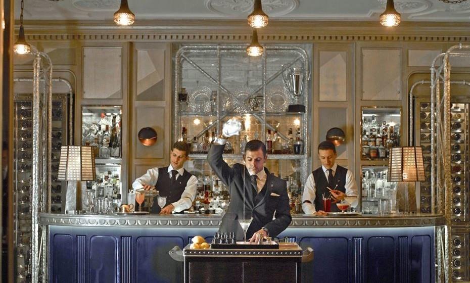4º - 'Connaught Bar', Londres, Inglaterra