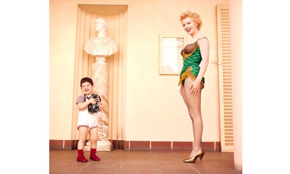 Marilyn and Joshua_ 1956 Photographed by Milton H. Greene © 2017 Joshua Greene • archiveimages.com