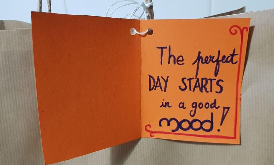 Uma mensagem especial para começar bem o dia.