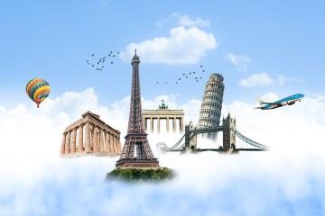 Veja na galeria dicas de viagem para reservar voos a nível mundial.