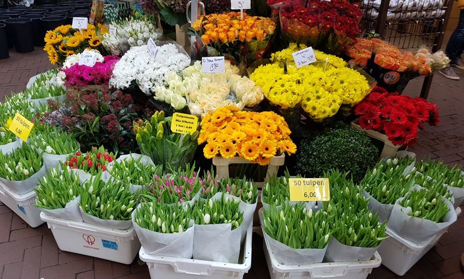 Visite o Mercado das Flores, no centro da cidade.