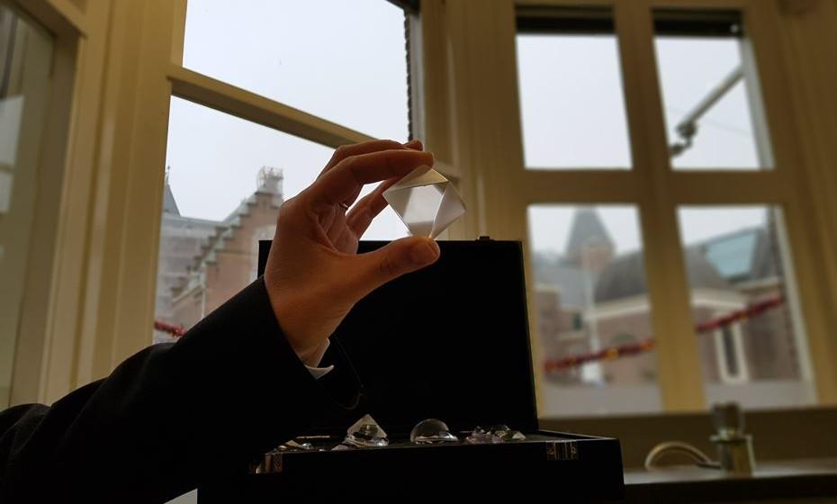 Visite também o Museu do Diamante, onde vai poder aprender sobre a pedra mais valiosa do mundo.