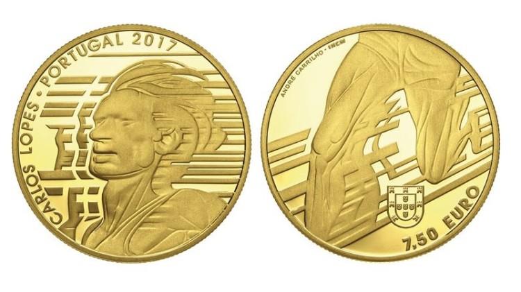 Carlos Lopes homenageado em moeda