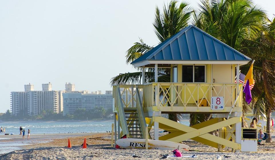 10 – Miami, EUA. Residência principal: 1440 / Residência de férias: 1487.