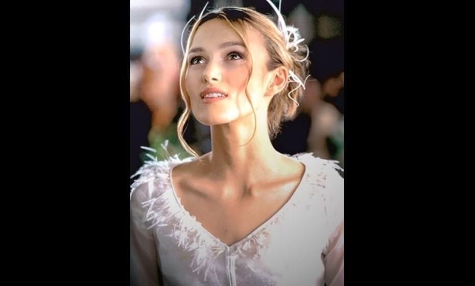 """O """"Amor Acontece"""" com Keira Knightley e o seu apanhado de sonho."""