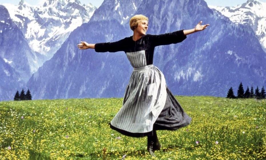 """""""Música no Coração"""" e o Pixie Cut de Julie Andrews."""