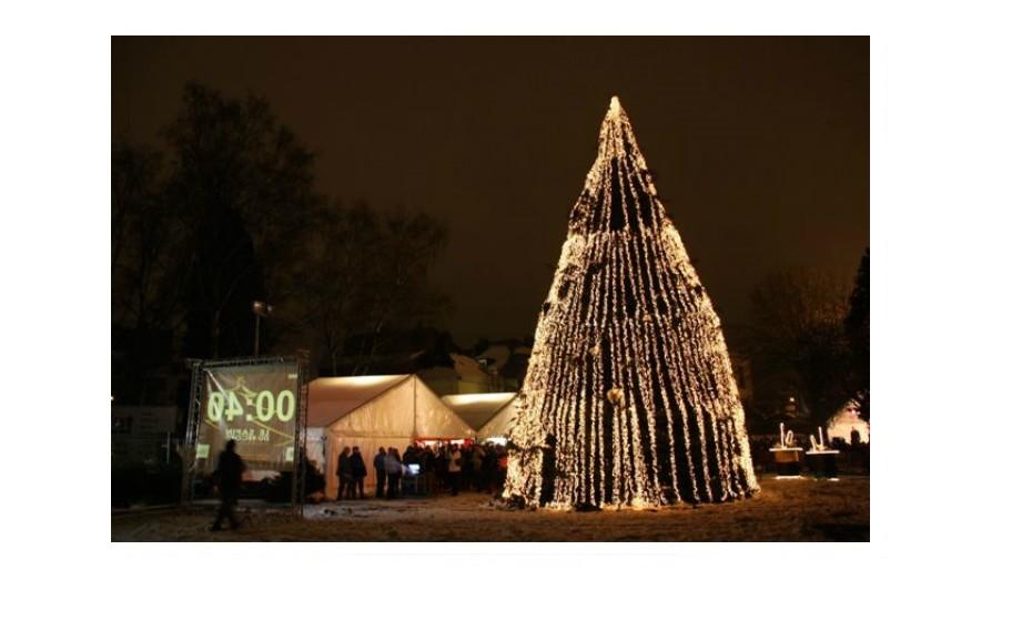 194,672: Este é o maior número de luzes alguma vez colocado numa árvore de Natal. Aconteceu em Malmady, Bélgica, em 2010.