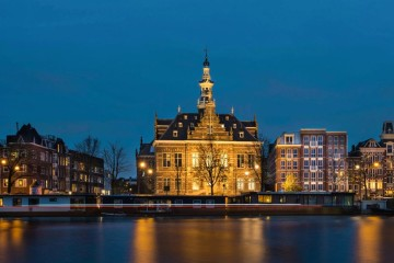 Pestana Amesterdam Riverside à noite