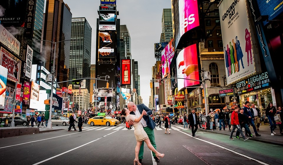 2 – Times Square, Nova Iorque, EUA