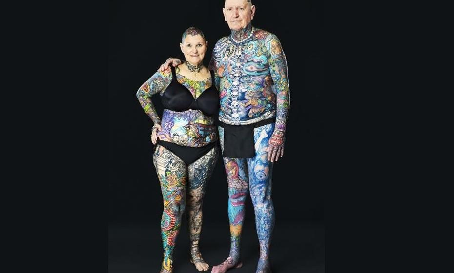 Charlotte Guttenberg e Chuck Helmke