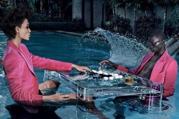 O modelo português continua a somar sucessos na moda internacional, sendo agora um dos protagonistas da recém-lançada campanha Spring Summer 2018 da marca Tom Ford.