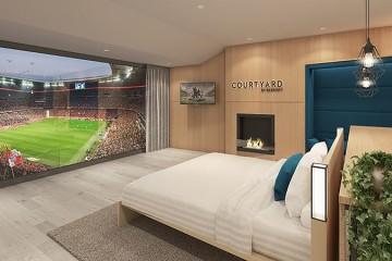 Quer assistir a um jogo do Bayern de Munique num quarto luxuoso… no próprio estádio?