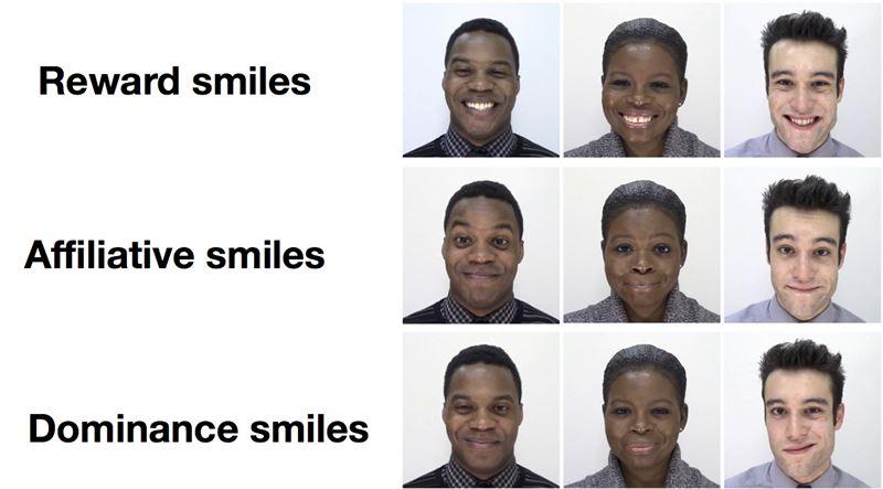 Os sorrisos não são todos iguais e têm diferentes impactos físicos