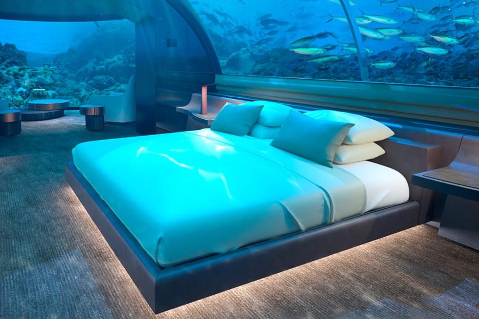 'Muraka', a primeira casa debaixo de água de um resort vai nascer nas Maldivas