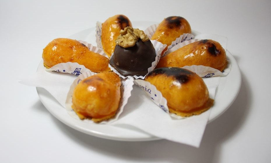 Castanhas doces com mimo de noz