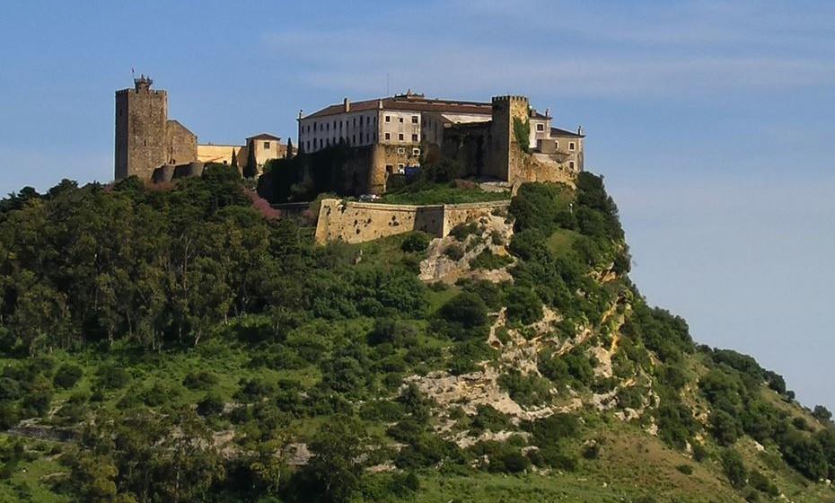 Castelo de Palmela. Imagem: Wikimedia.