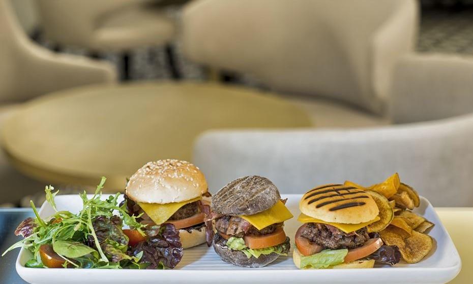 Sliders de hambúrguer de novilho mertolengo