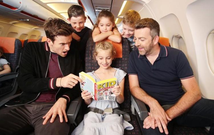 17.500 livros infantis vão incentivar a leitura a bordo de aviões