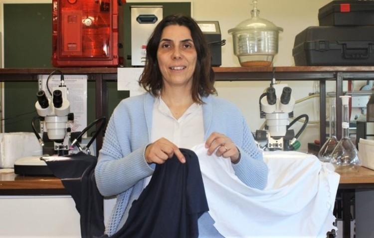 A investigadora Helena Alves