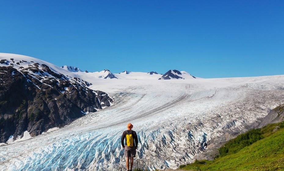 Glaciar Exit, Alasca, EUA