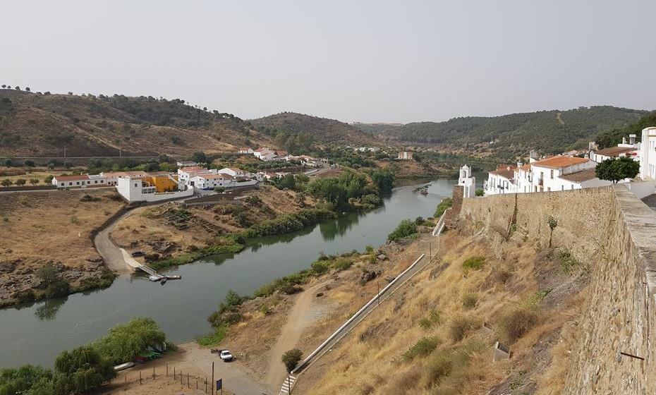 Rio Guadiana em Mértola