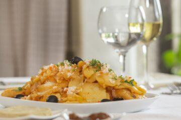 bacalhau com batatas