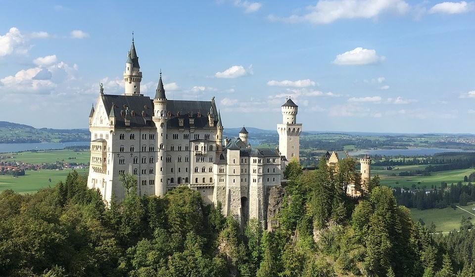 6 – Castelo de Neuschwanstein, Alemanha