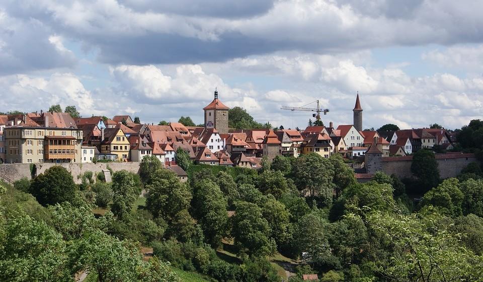 7 – Rothenburg-ob-der-Tauber, Alemanha