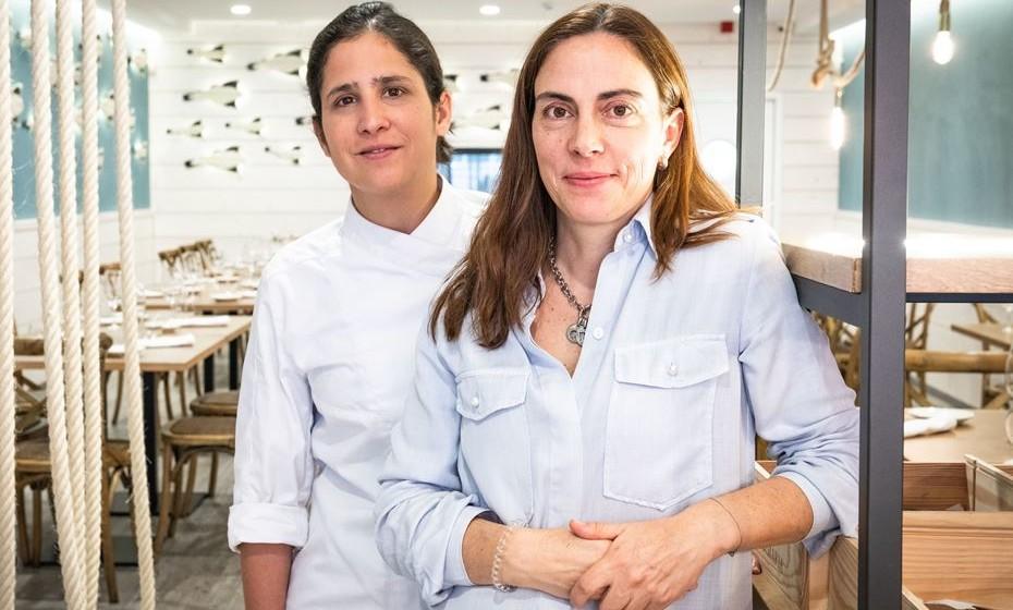 Chef Ana Moura e Susana Almeida e Sousa_ Foto por Frederico Van Zeller