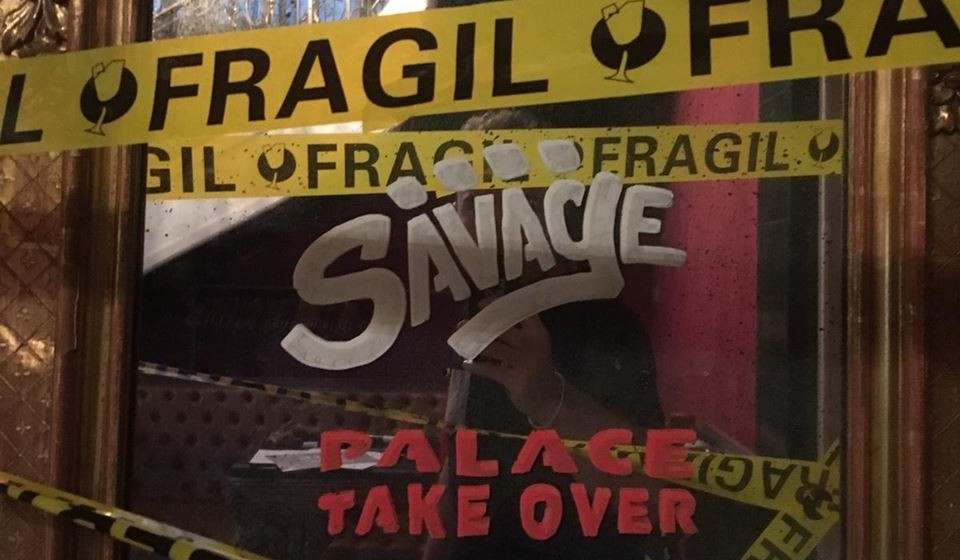 Savage Palace Takeover Pop Up