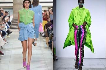 A moda tem espaço para todos os gostos e, prova disso, são os tons pastel e néon nesta estação.