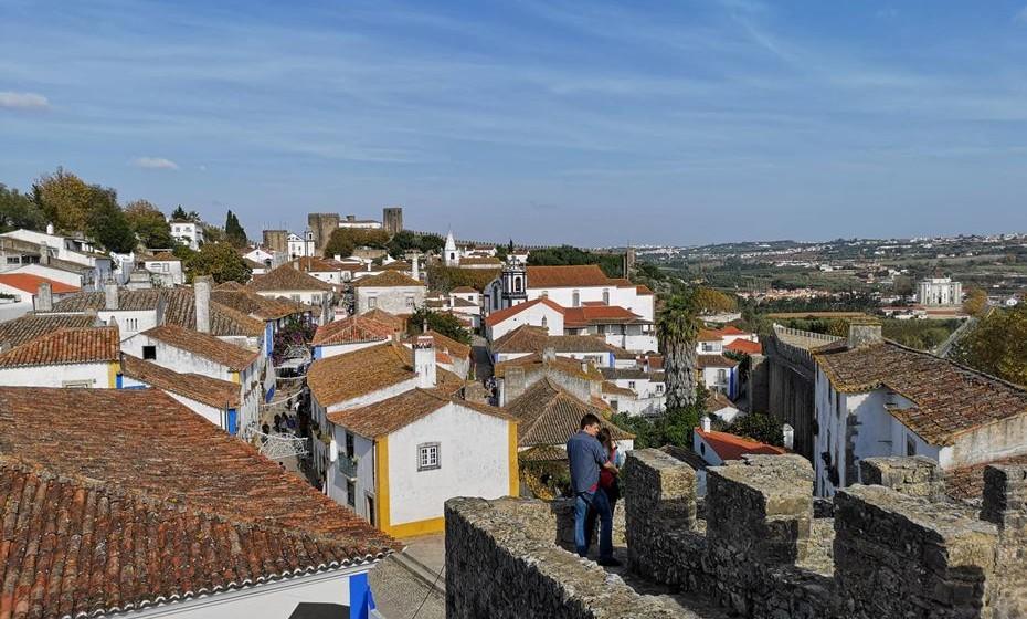Vista sobre Óbidos